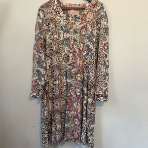 Philosophy republic Paisley Dress Large